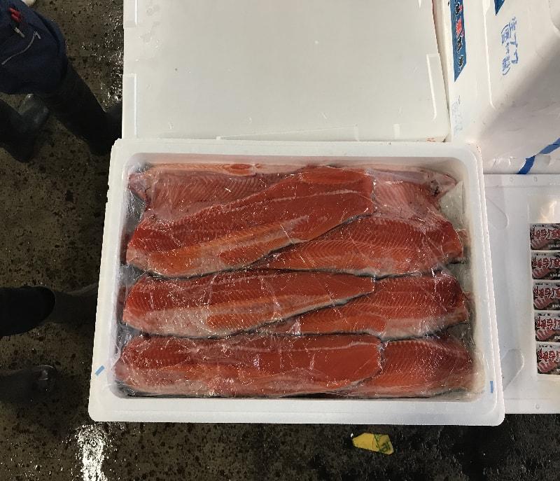 秋鮭フィーレ